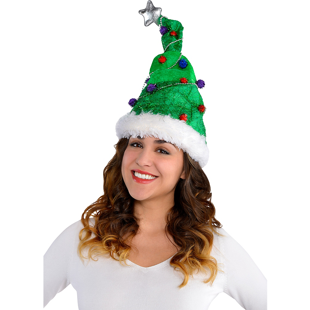 Christmas Tree Hat Image #2