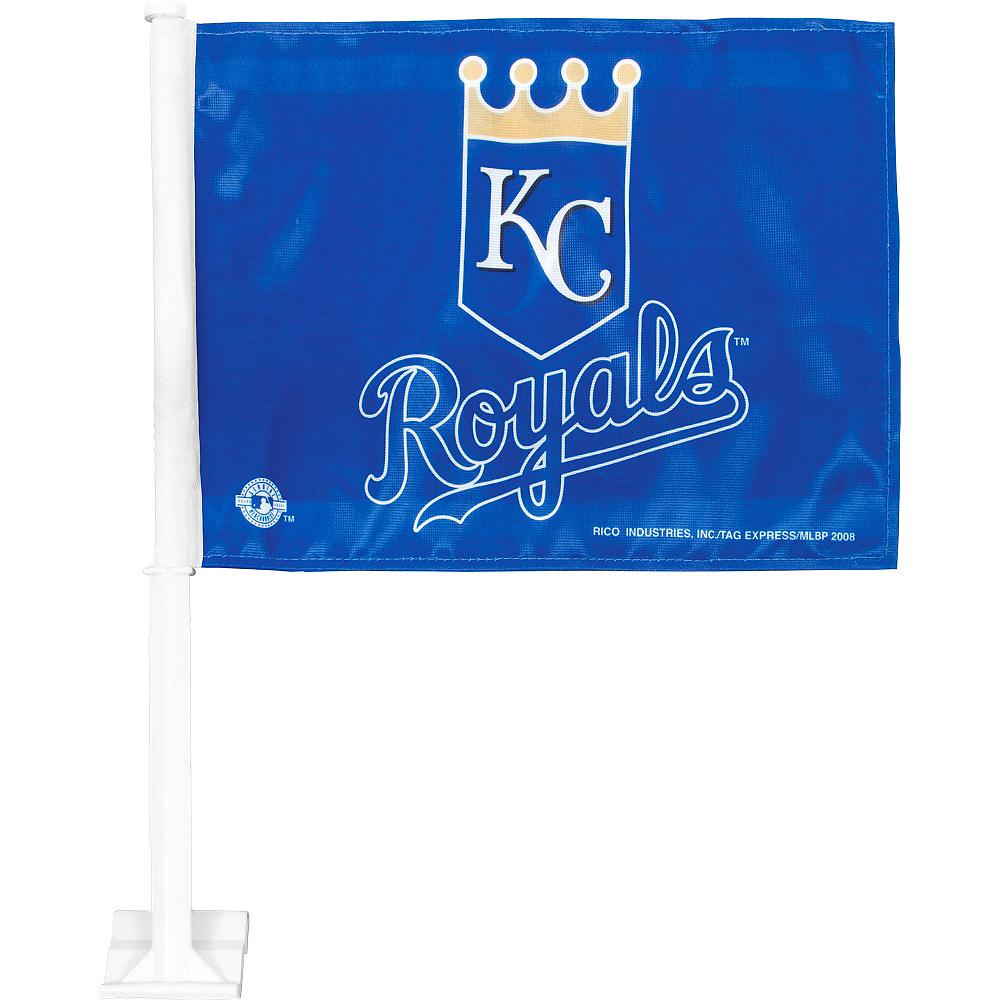 Kansas City Royals Car Flag Image #1