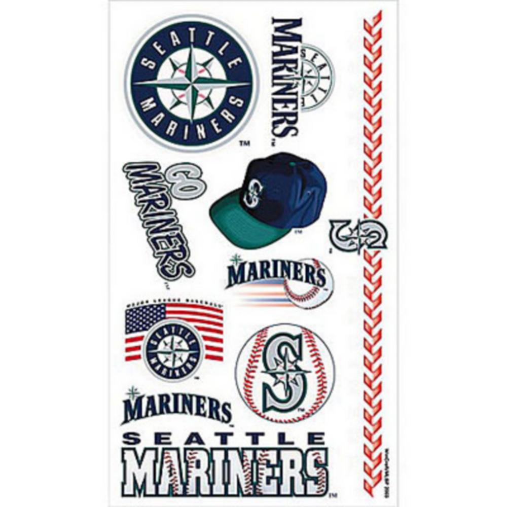 Seattle Mariners Tattoos 10ct Image #1