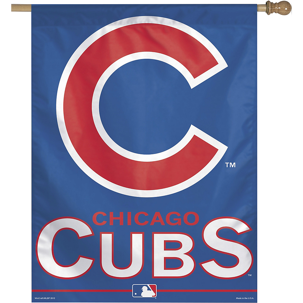 Chicago Cubs Banner Flag Image #1
