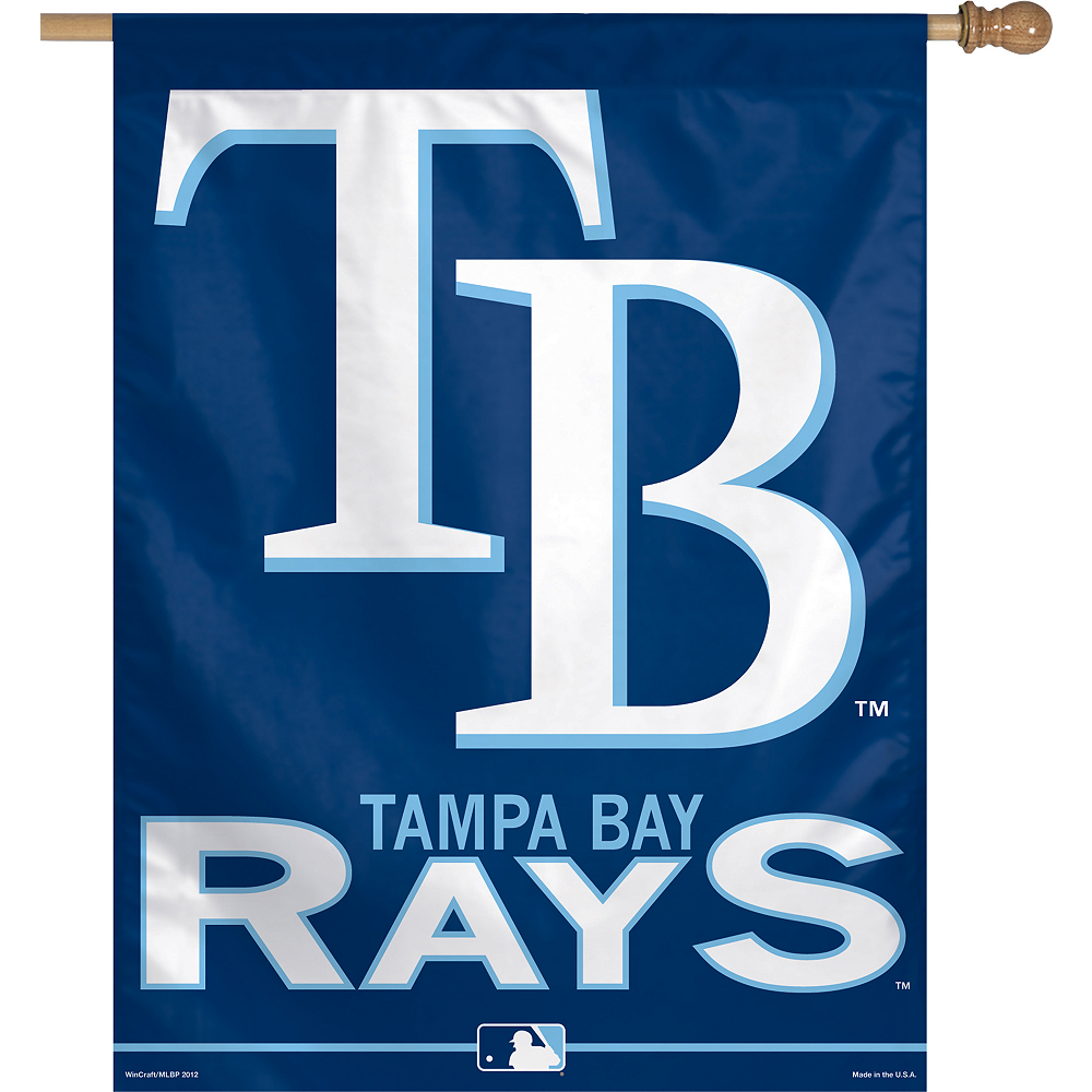Nav Item for Tampa Bay Rays Banner Flag Image #1