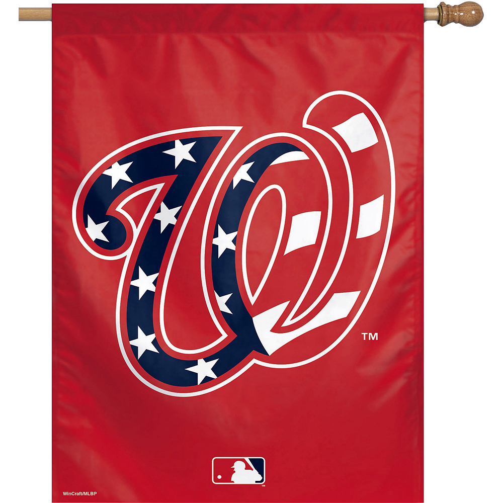 Washington Nationals Banner Flag Image #1