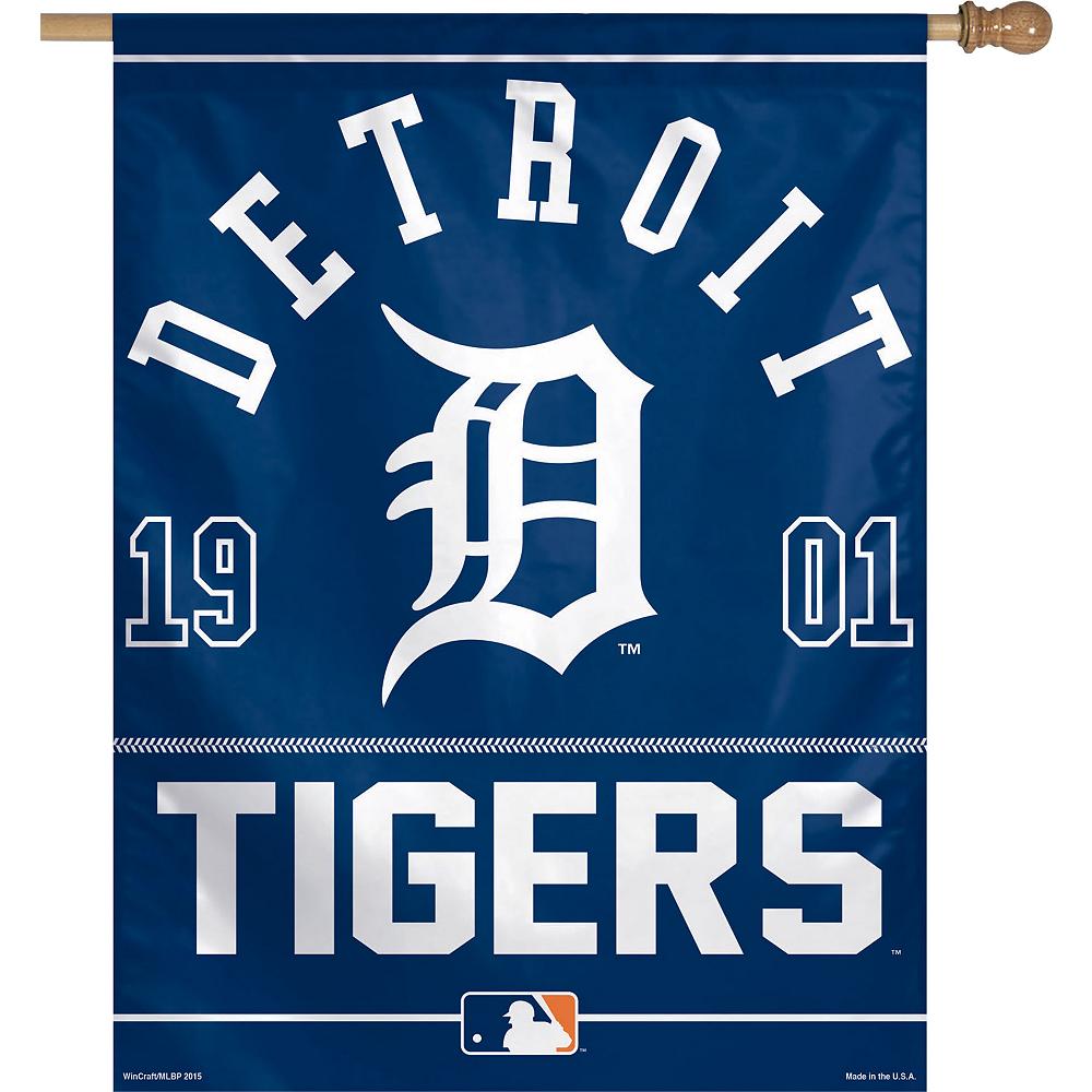 Detroit Tigers Banner Flag Image #1