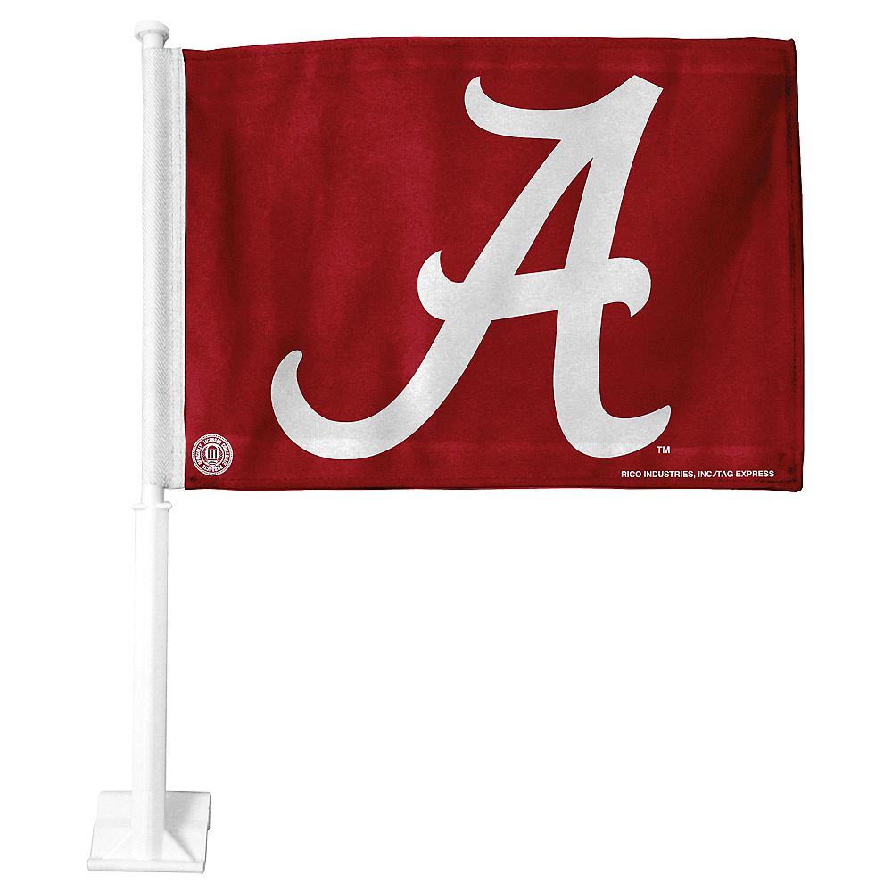 Alabama Crimson Tide Car Flag Image #1