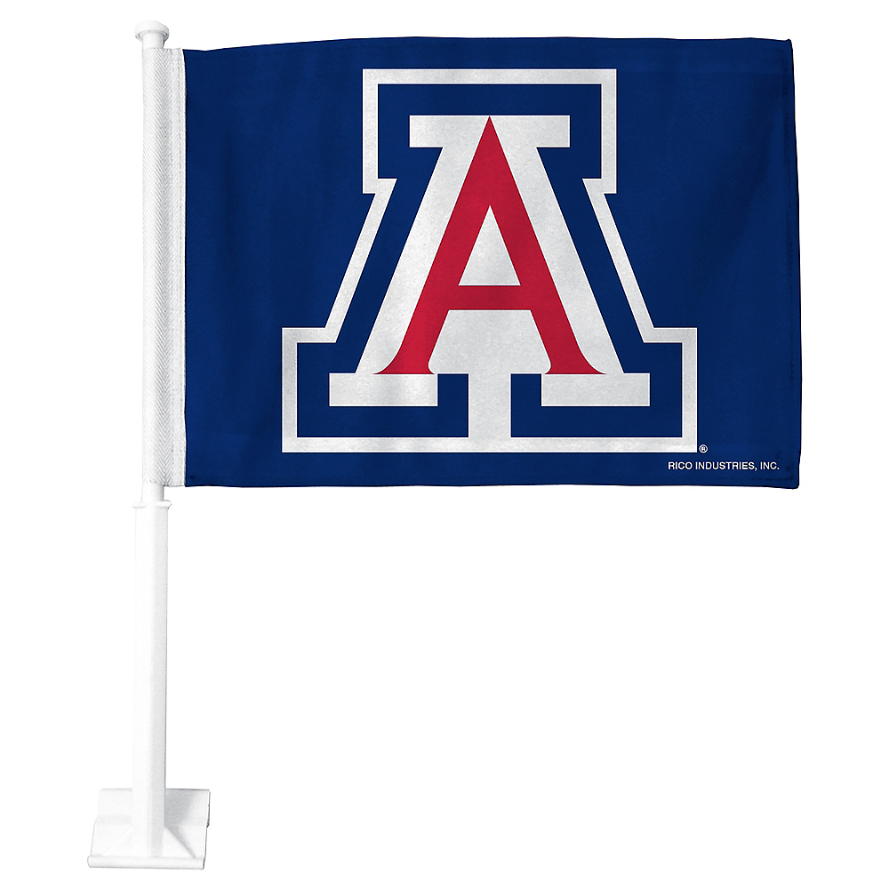 Arizona Wildcats Car Flag Image #1