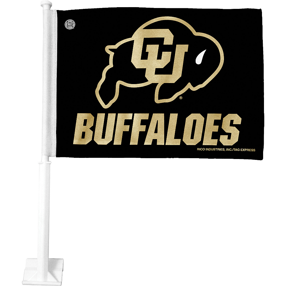 Colorado Buffaloes Car Flag Image #1