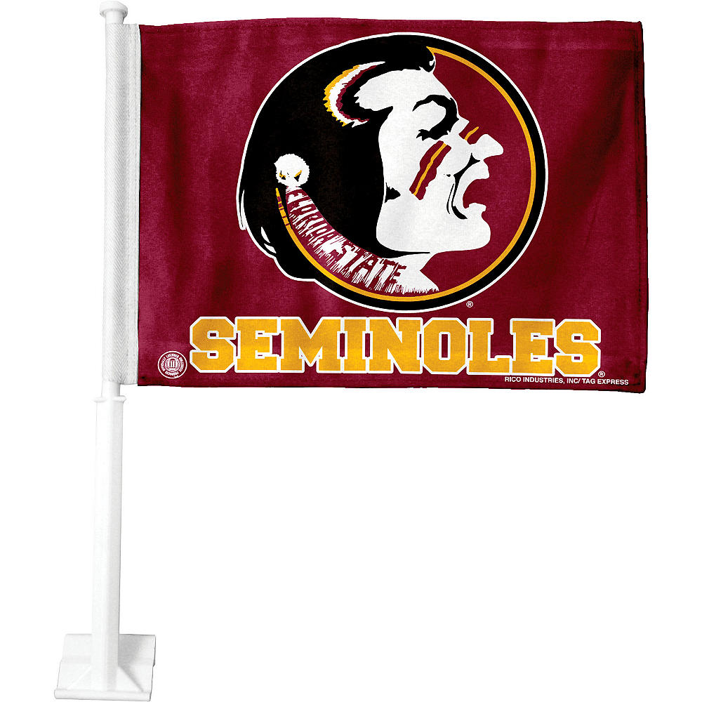 Florida State Seminoles Car Flag Image #1