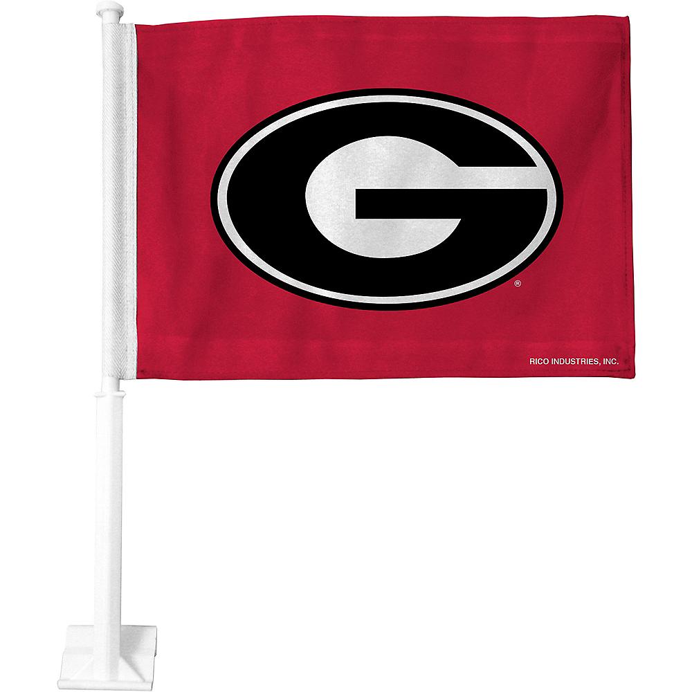 Georgia Bulldogs Car Flag Image #1