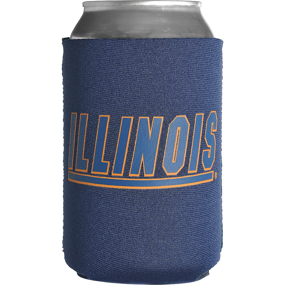 Illinois Fighting Illini Can Coozie Image #1