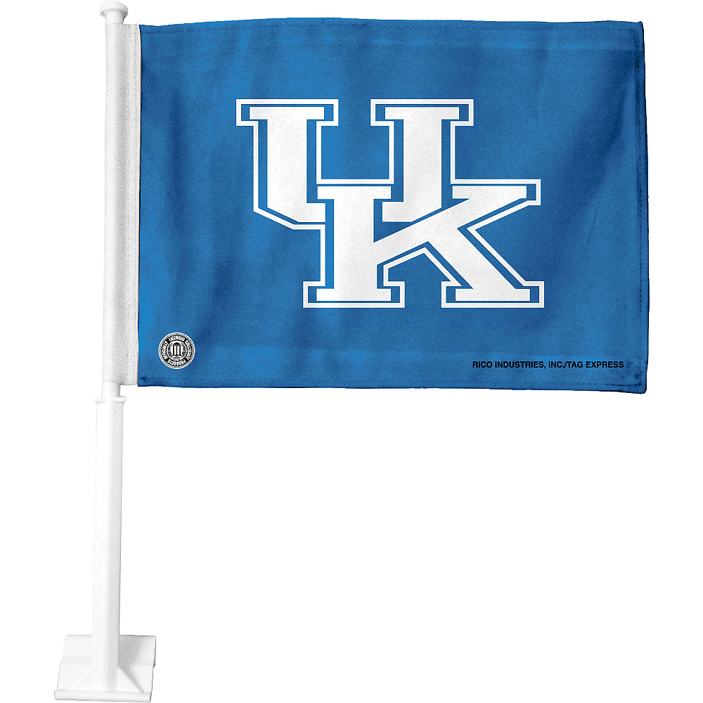 Kentucky Wildcats Car Flag Image #1