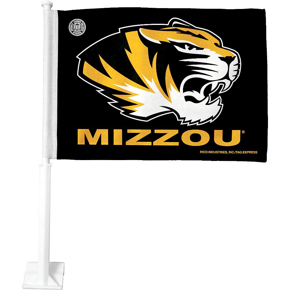 Missouri Tigers Car Flag Image #1
