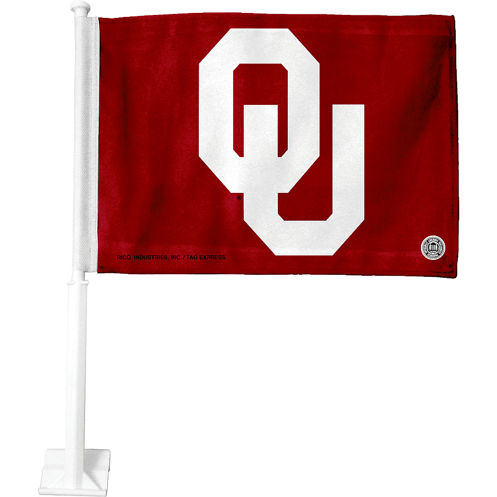Oklahoma Sooners Car Flag Image #1