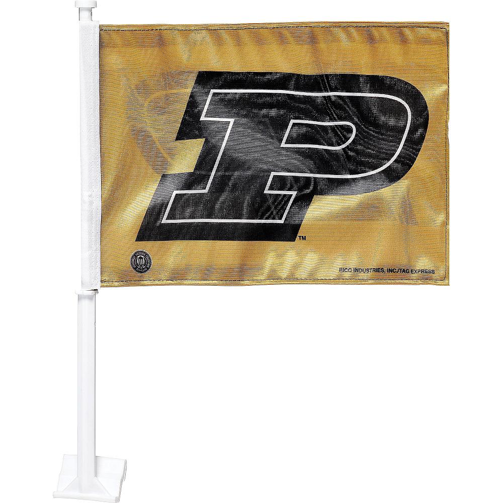 Purdue Boilermakers Car Flag Image #1