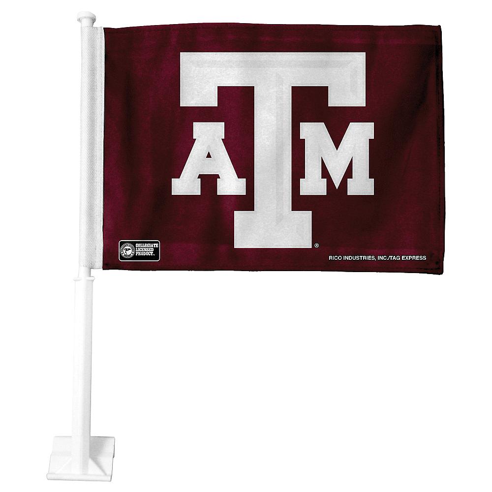Texas A&M Aggies Car Flag Image #1