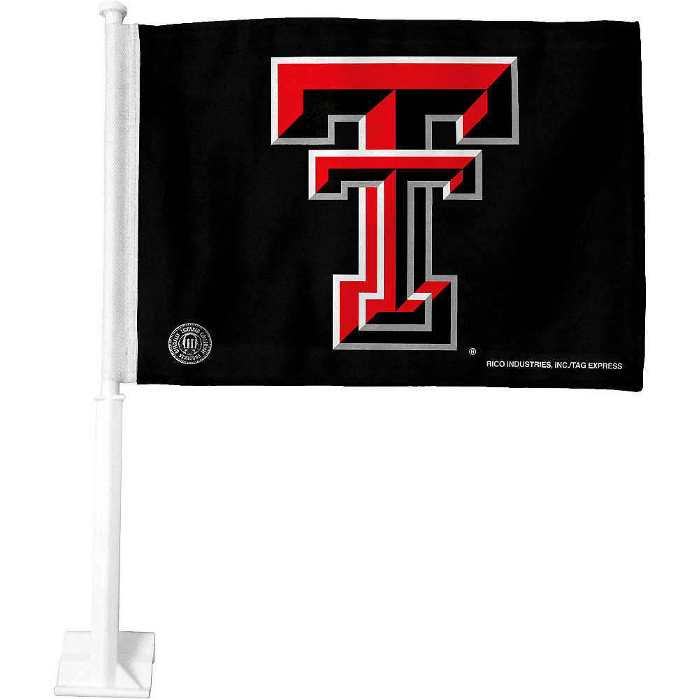 Texas Tech Red Raiders Car Flag 15in X 11in Party City