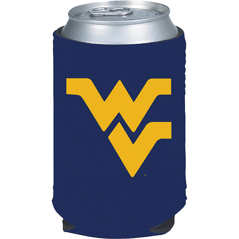 West Virginia Mountaineers Can Coozie Image #1