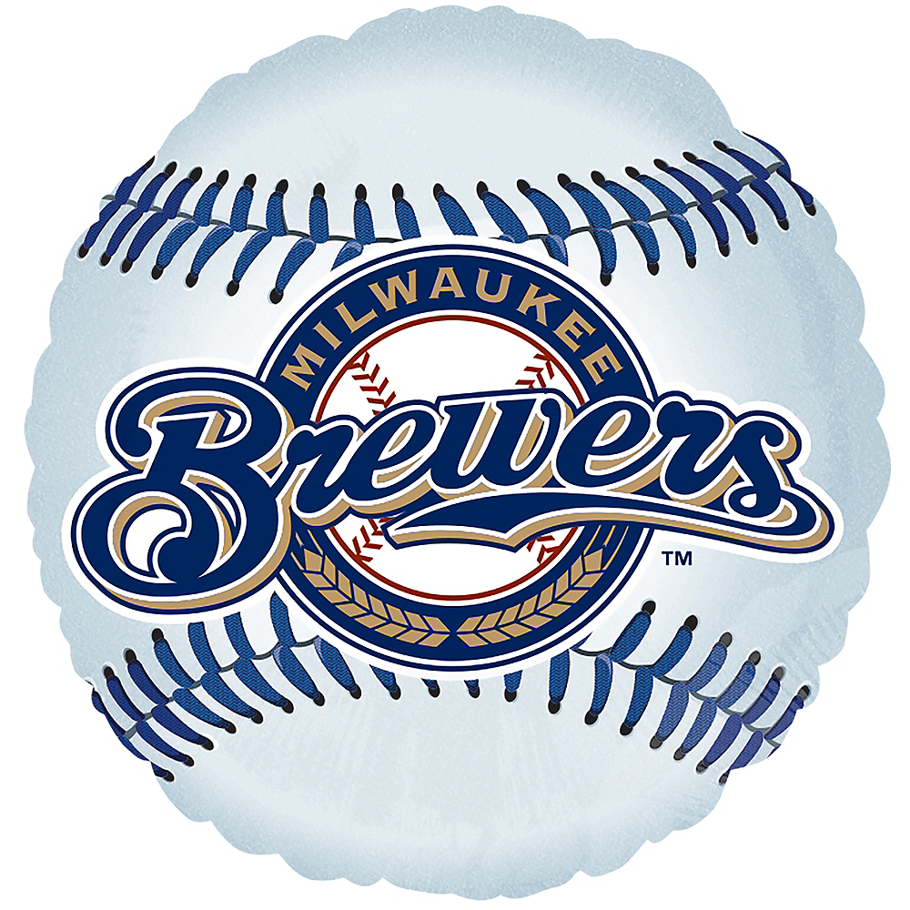 Nav Item for Milwaukee Brewers Balloon - Baseball Image #1