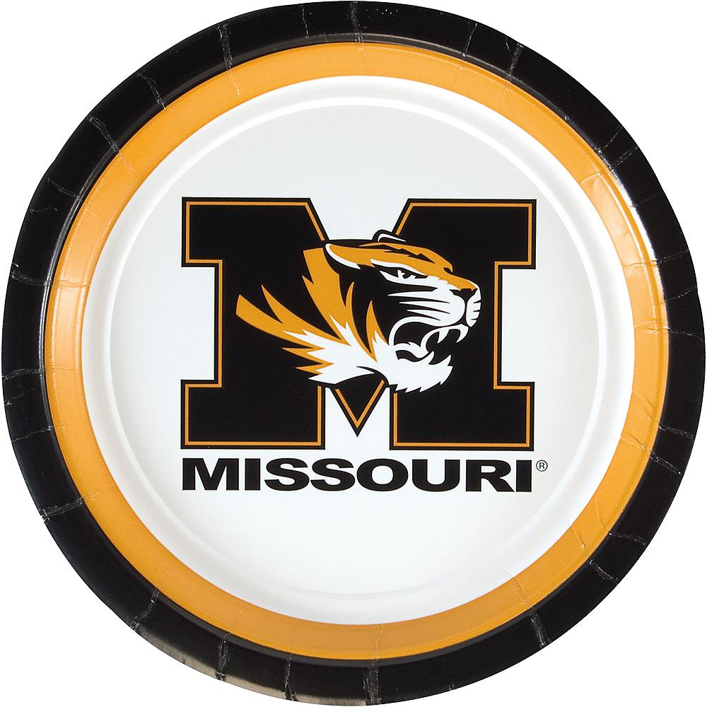 Missouri Tigers Lunch Plates 10ct Image #1