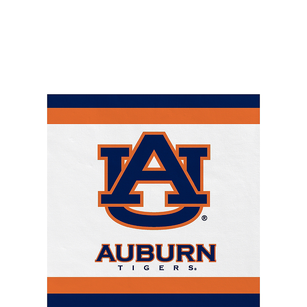 Auburn Tigers Beverage Napkins 24ct Image #1