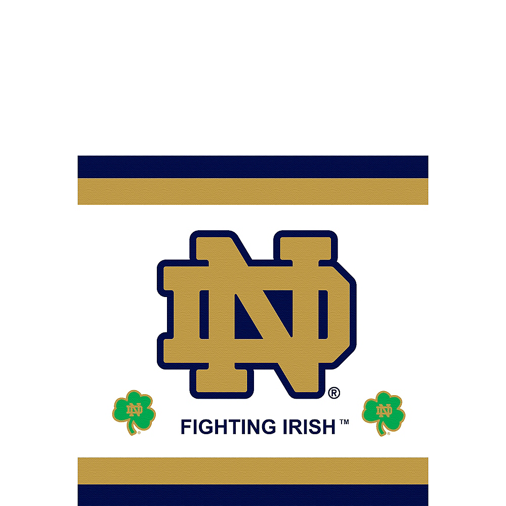 Nav Item for Notre Dame Fighting Irish Beverage Napkins 16ct Image #1