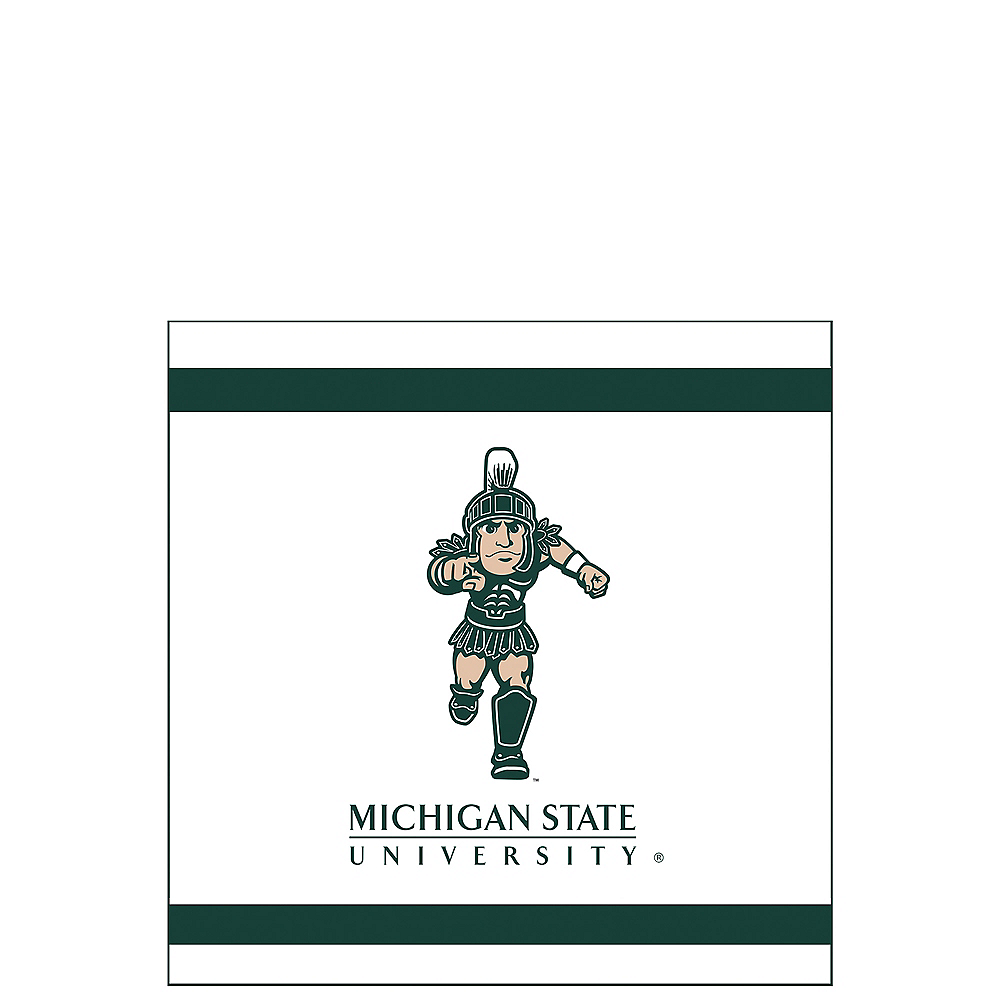 Nav Item for Michigan State Spartans Beverage Napkins 24ct Image #1