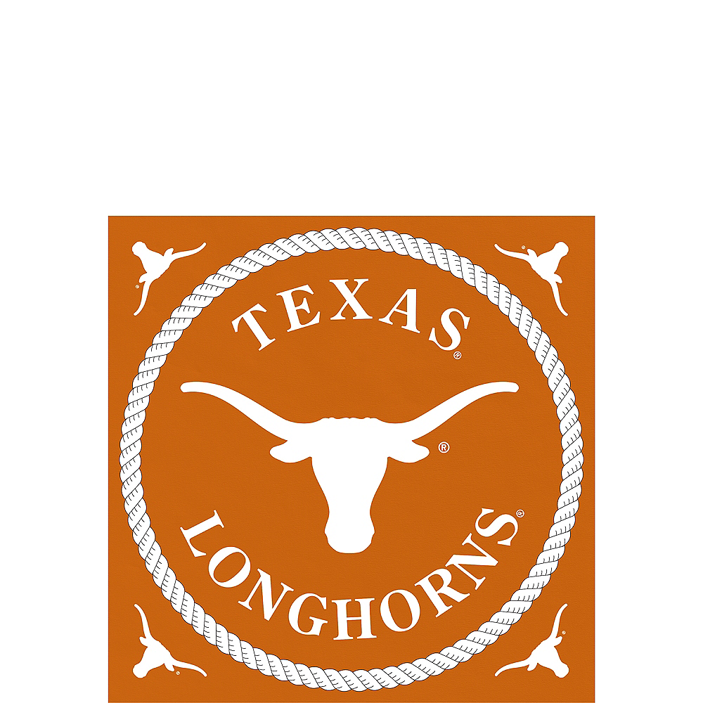 Texas Longhorns Beverage Napkins 24ct Image #1