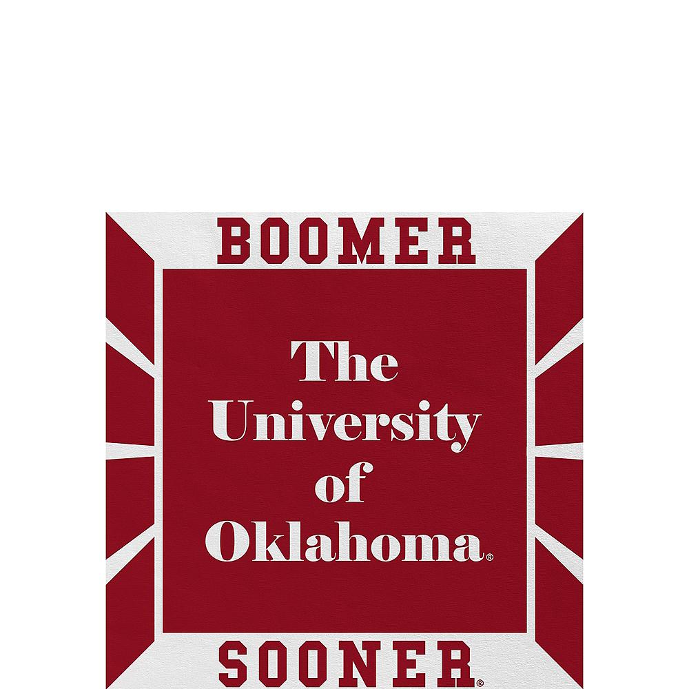 Oklahoma Sooners Beverage Napkins 16ct Image #1