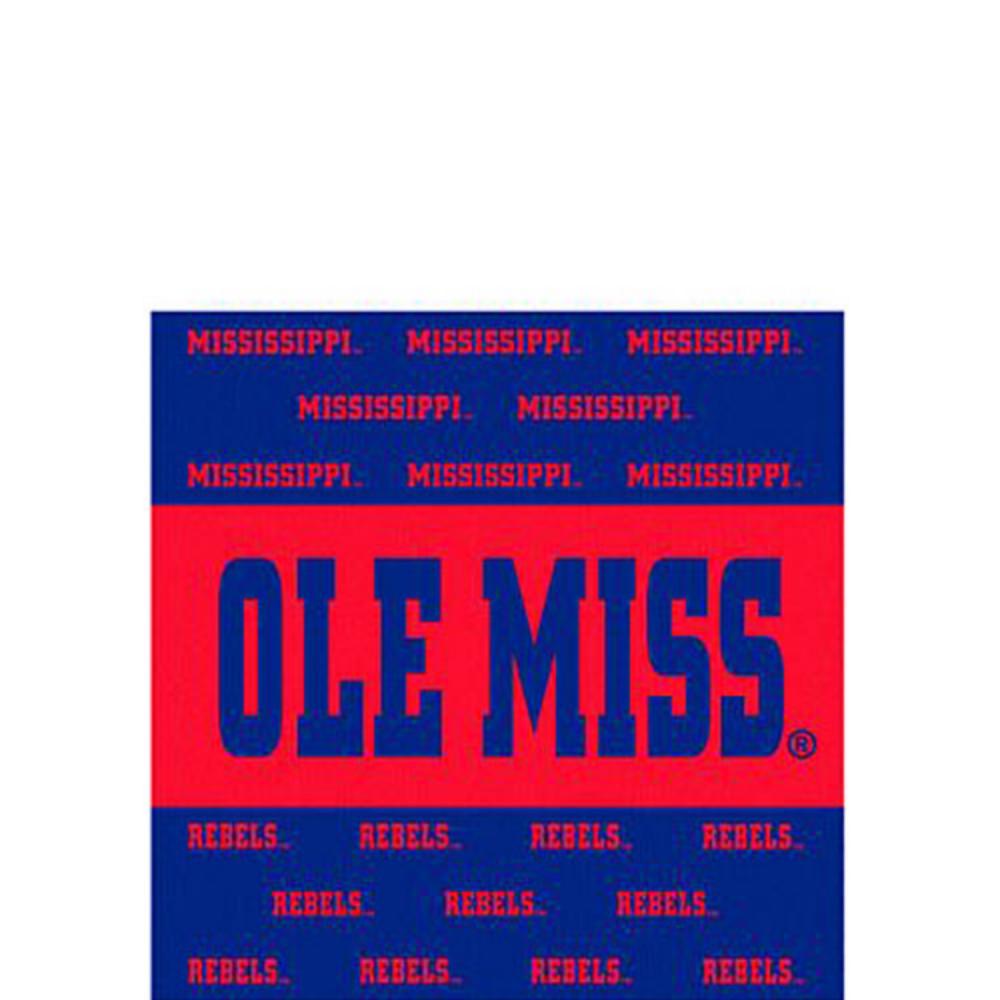 Ole Miss Rebels Beverage Napkins 16ct Image #1