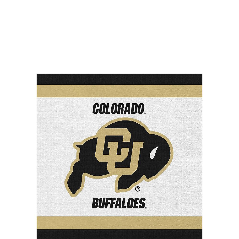 Colorado Buffaloes Beverage Napkins 24ct Image #1