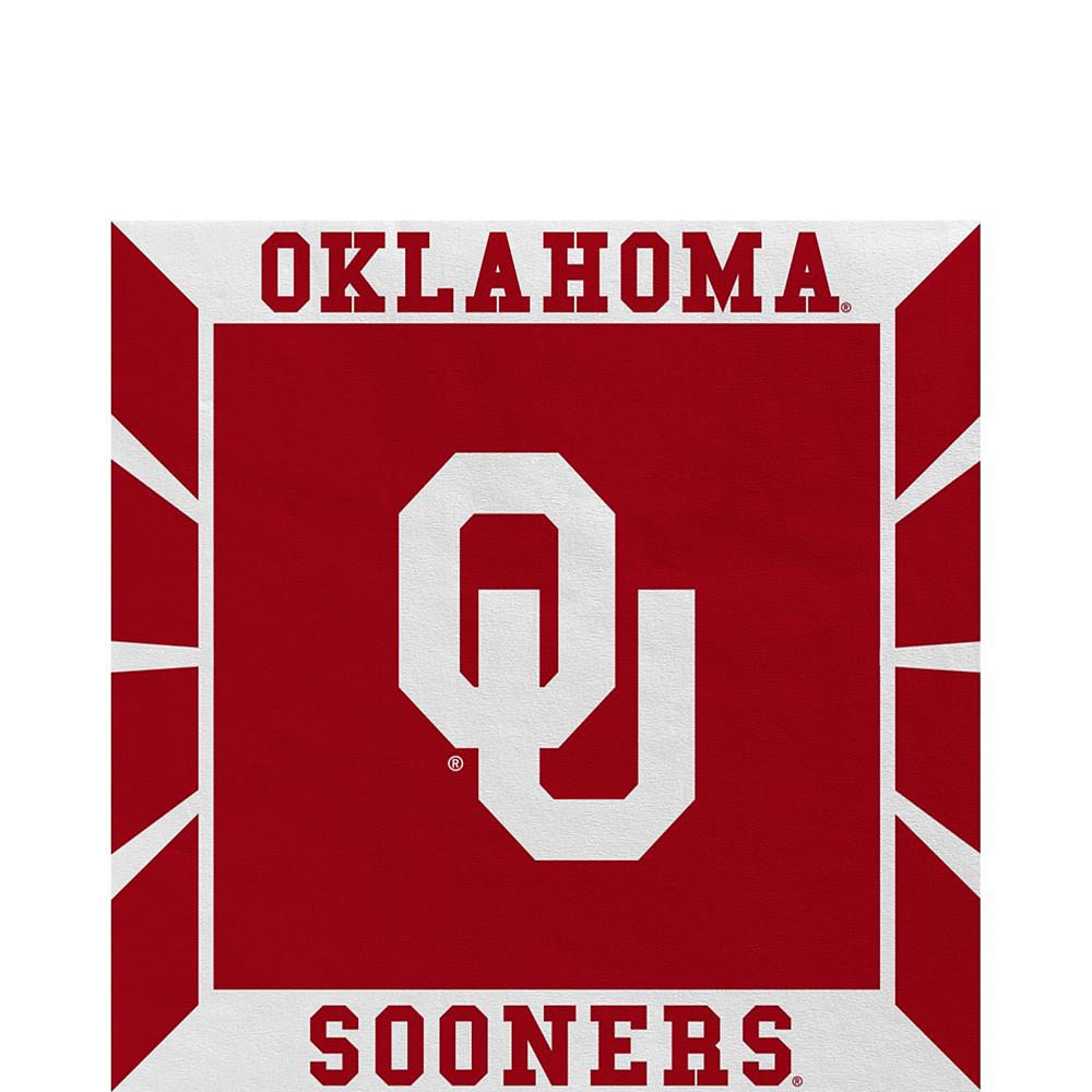 Oklahoma Sooners Lunch Napkins 16ct Image #1