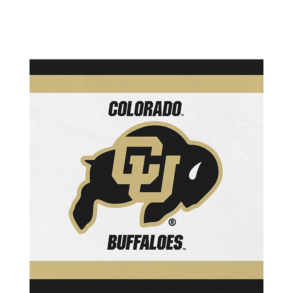 Colorado Buffaloes Lunch Napkins 20ct Image #1