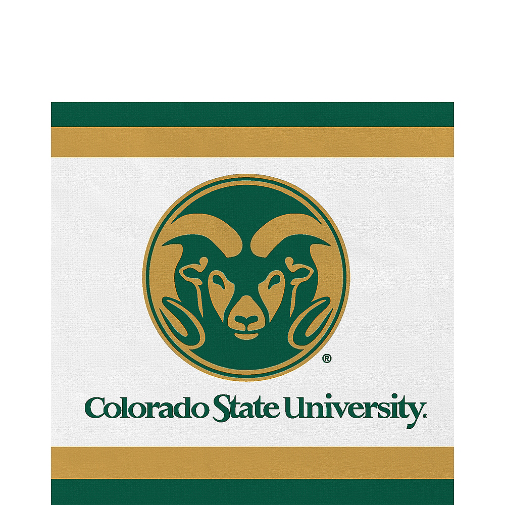 Colorado State Rams Lunch Napkins 20ct Image #1