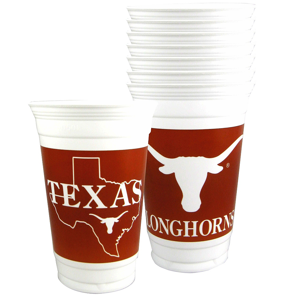 Texas Longhorns Party Cups 8ct Image #1