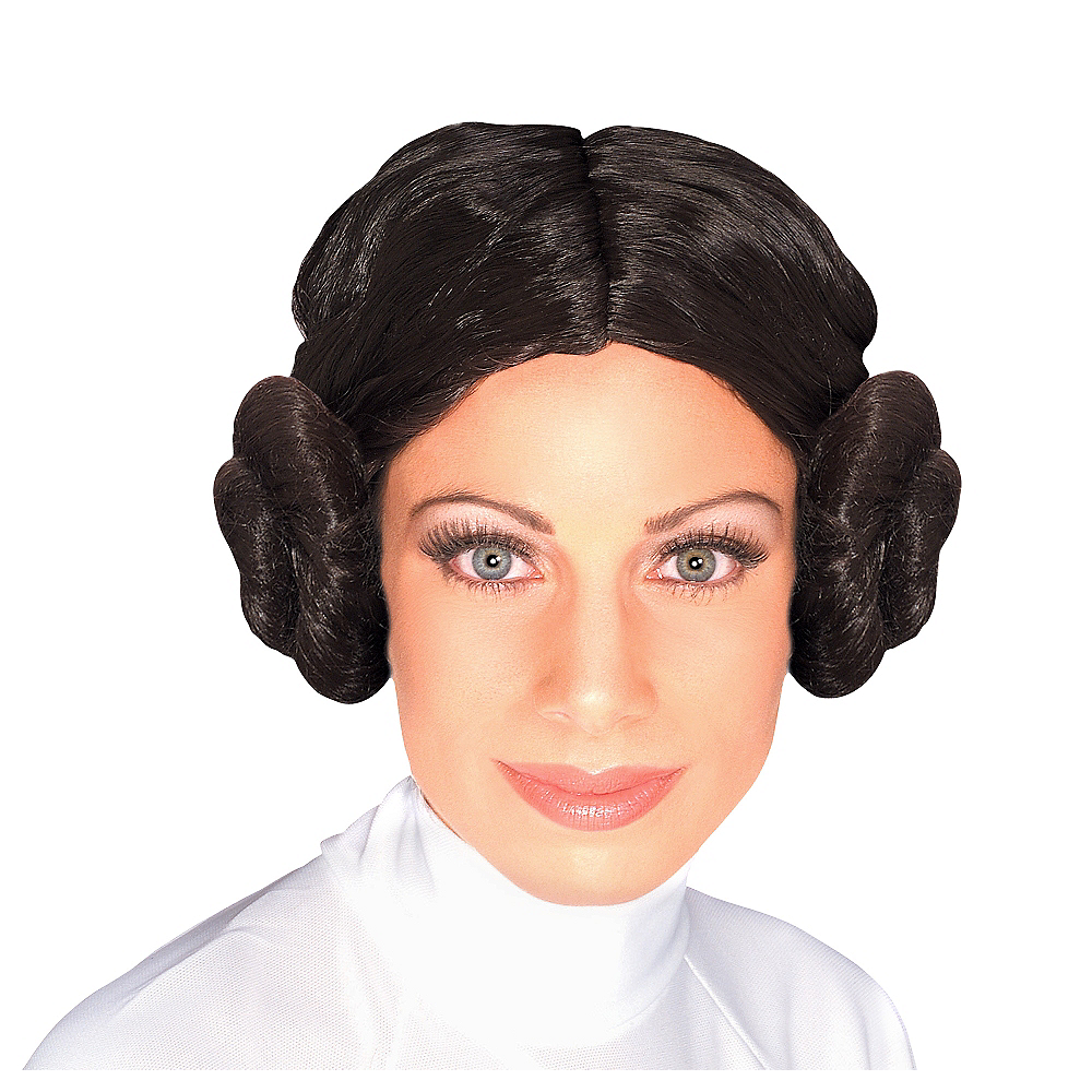 Nav Item for Princess Leia Wig - Star Wars Image #1