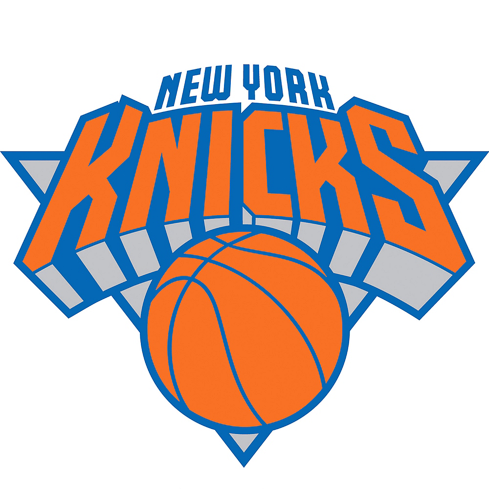 New York Knicks Cling Decal Image #1
