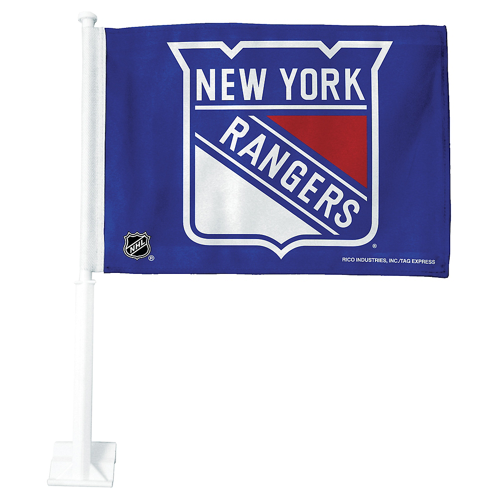 New York Rangers Car Flag Image #1