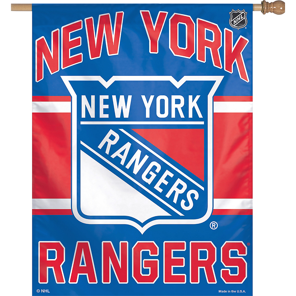 New York Rangers Banner Flag Image #1