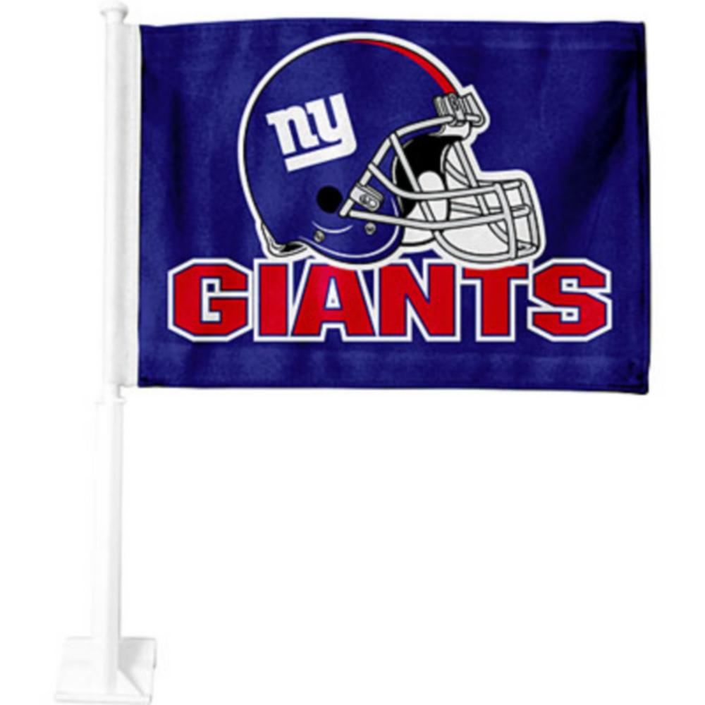 New York Giants Car Flag Image #1