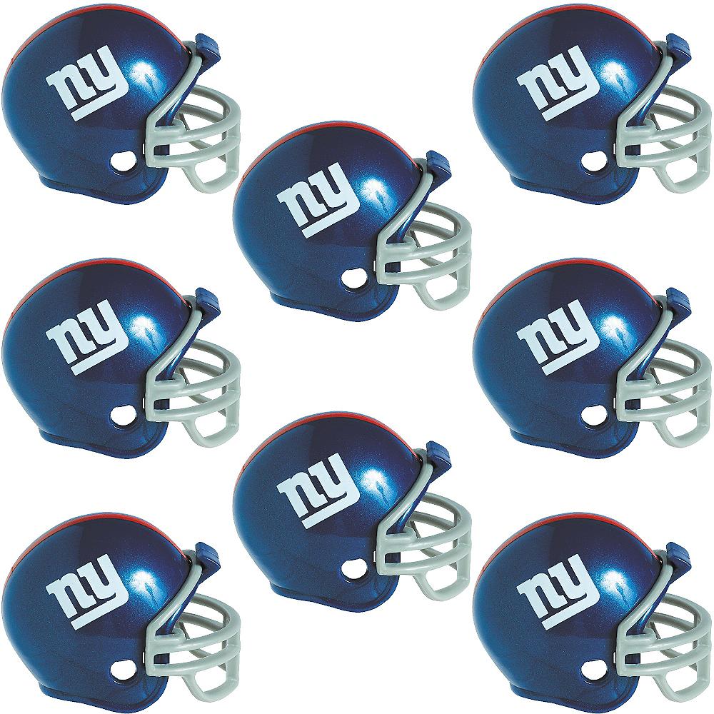 New York Giants Helmets 8ct Image #1
