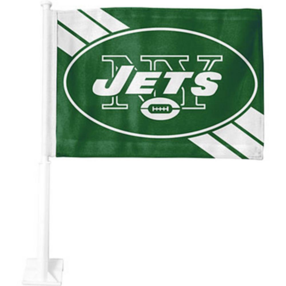 New York Jets Car Flag Image #1