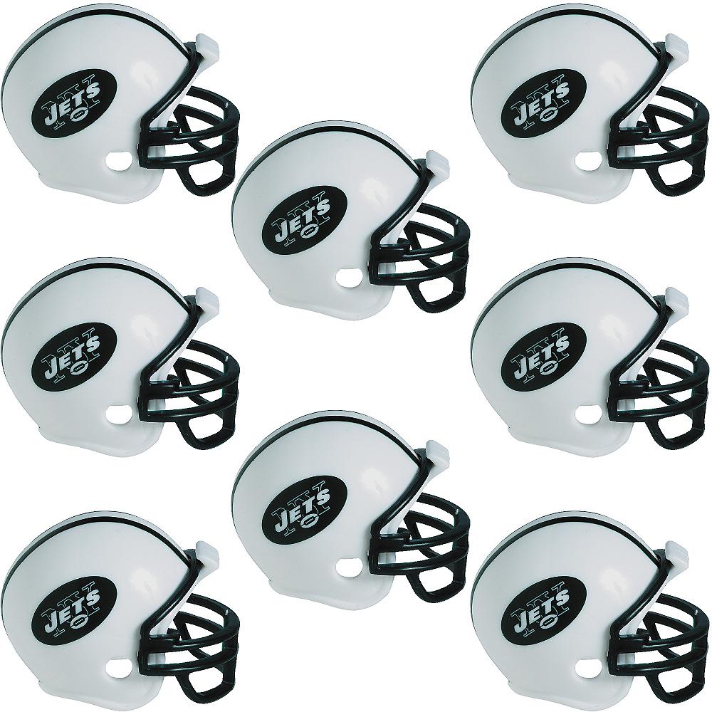 New York Jets Helmets 8ct Image #1