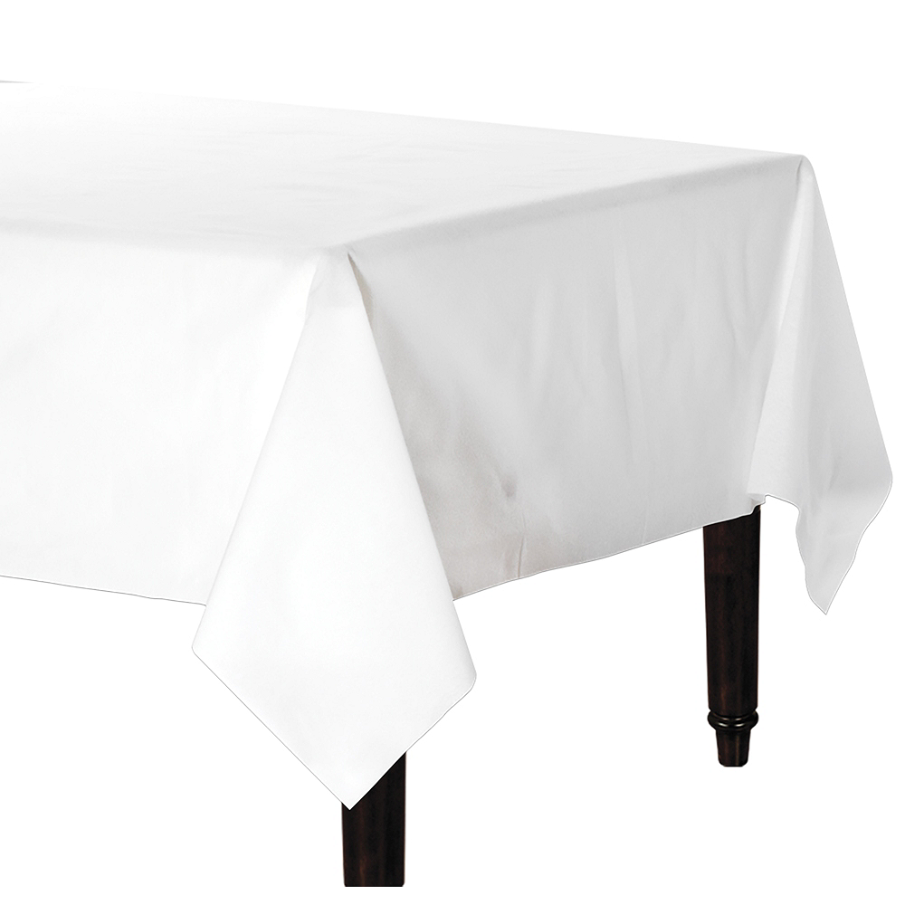 White Premium Paper Table Cover Image #1