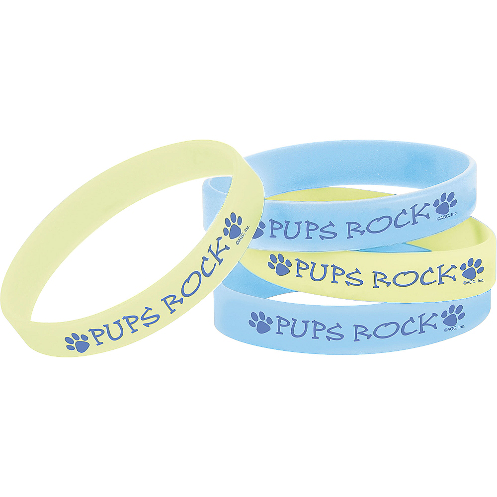 Party Pups Wristbands 4ct Image #1