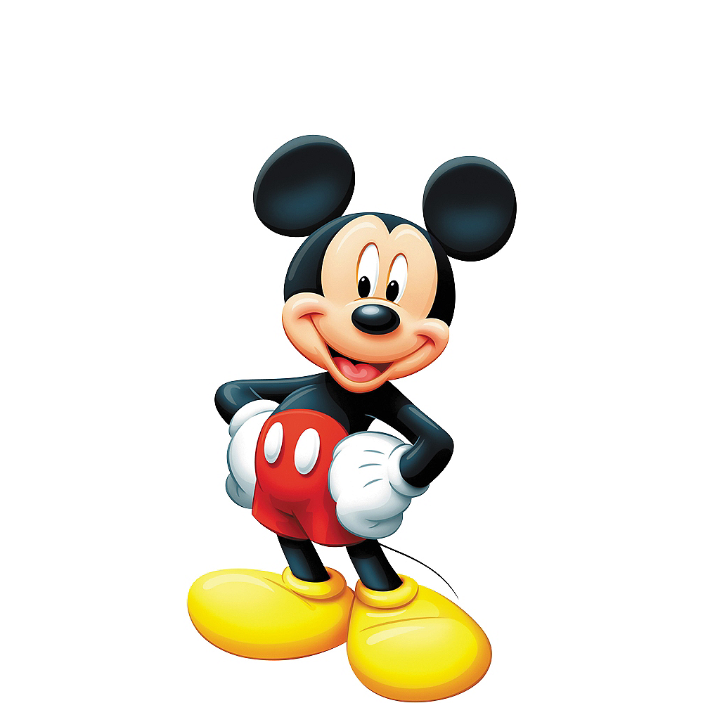 Mickey Mouse Life-Size Cardboard Cutout | Party City
