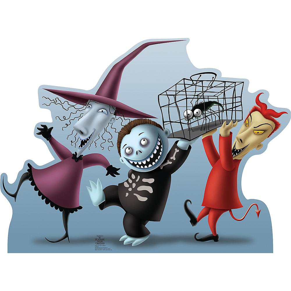 Barrel, Lock & Shock Standee - Nightmare Before Christmas Image #1