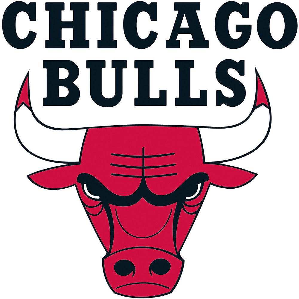 Chicago Bulls Cling Decal Image #1