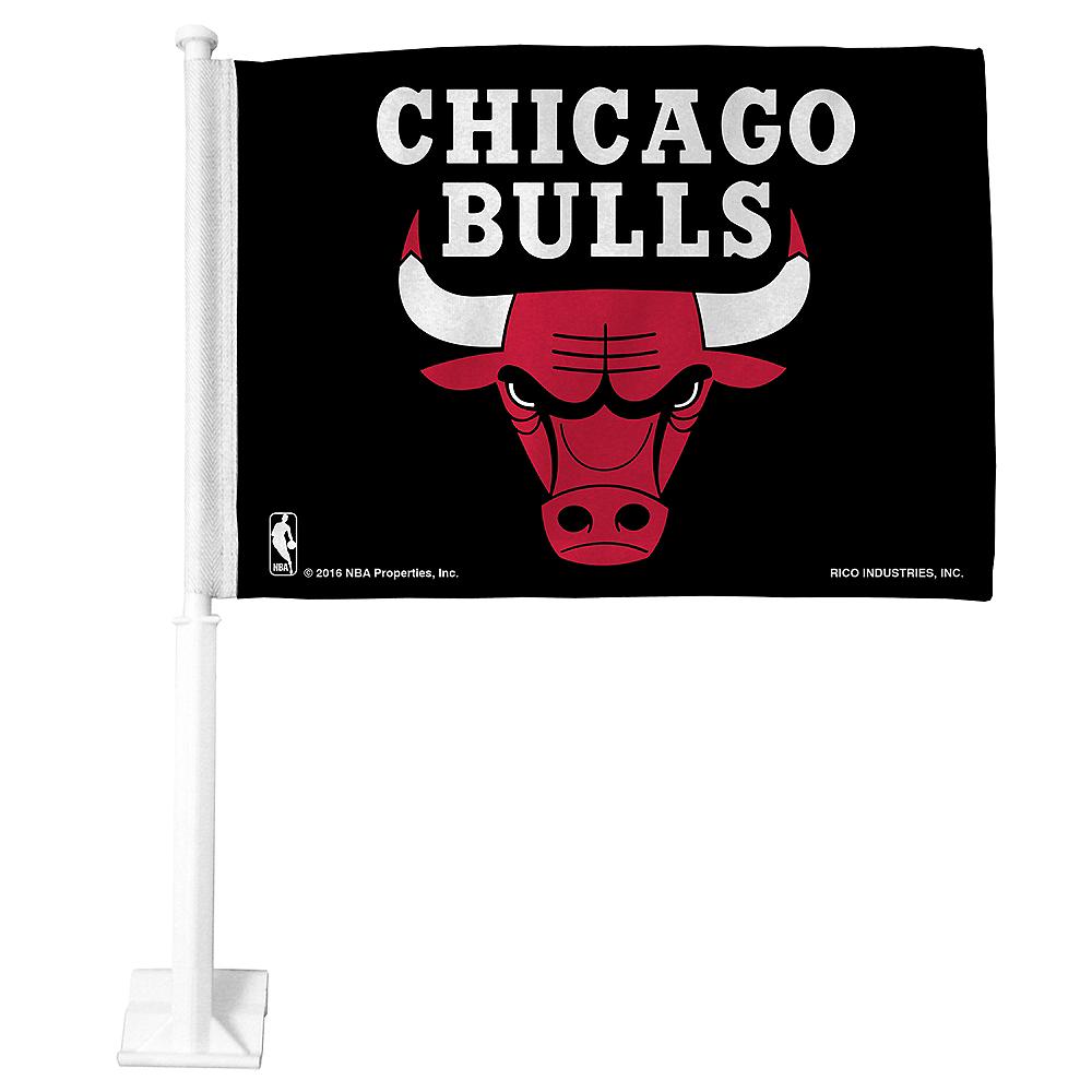 Chicago Bulls Car Flag Image #1