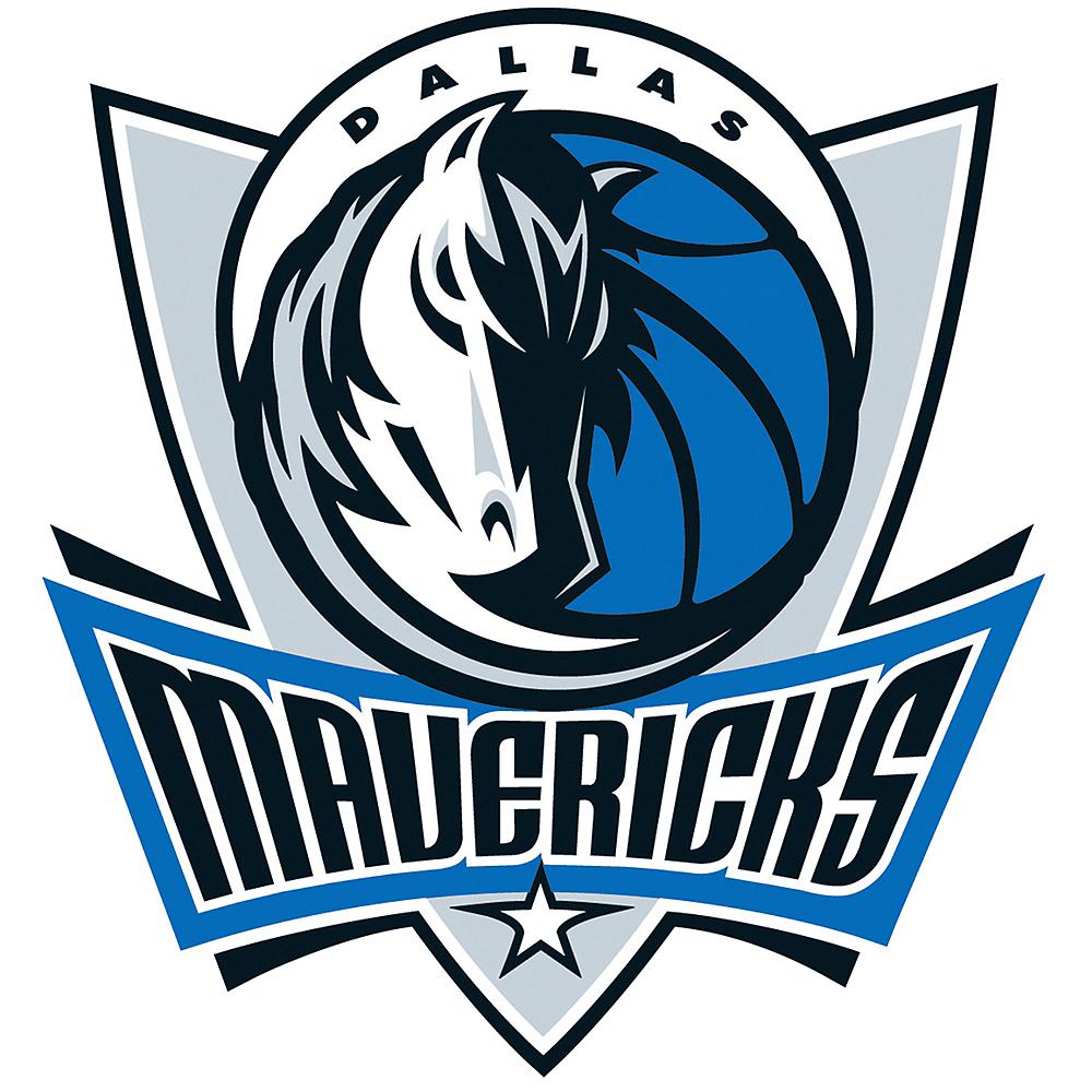Dallas Mavericks Cling Decal Image #1