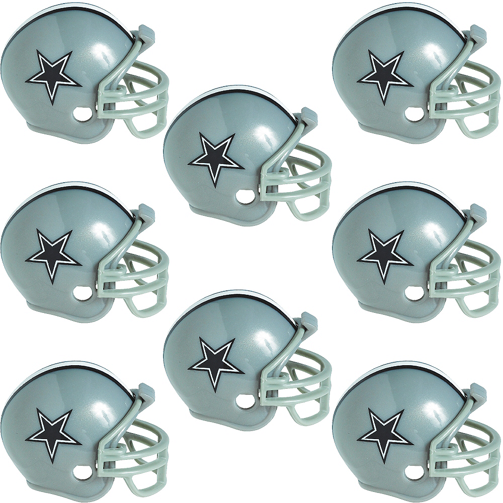 Dallas Cowboys Helmets 8ct Image #1