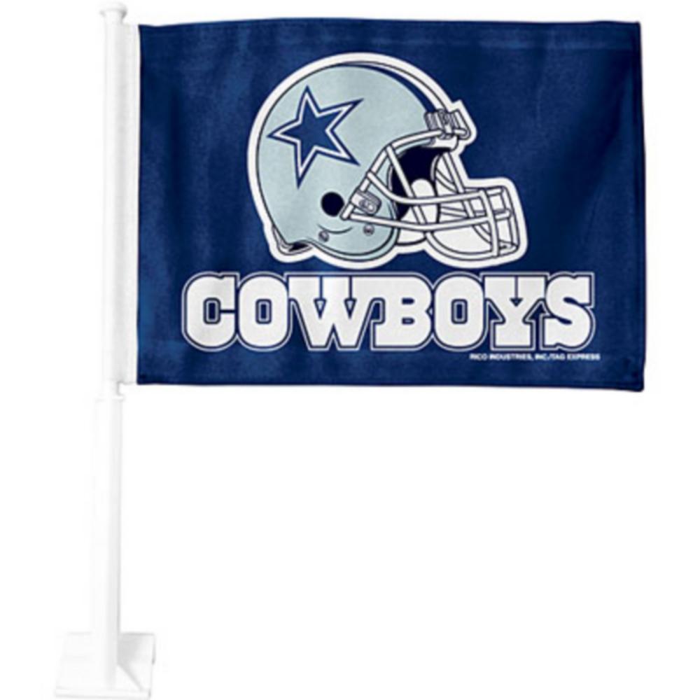Dallas Cowboys Car Flag Image #1